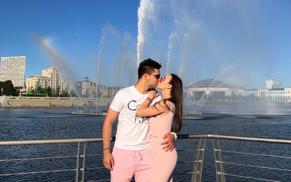 "VIKTORIA SADYKOVA: ""OUR FAVORITE VACATION SPOT WITH DANIL IS WHEREVER WE ARE TOGETHER"""