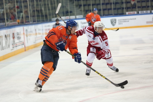 MHC SPARTAK WILL TRY TO KEEP AMURSKIE TIGRY AWAY FROM THE PLAYOFF ZONE. OCTOBER 18th